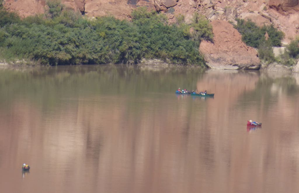 Canoe-Green-River-Utah