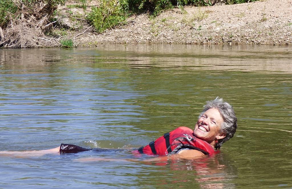 Canoeing-St-Vrain-River