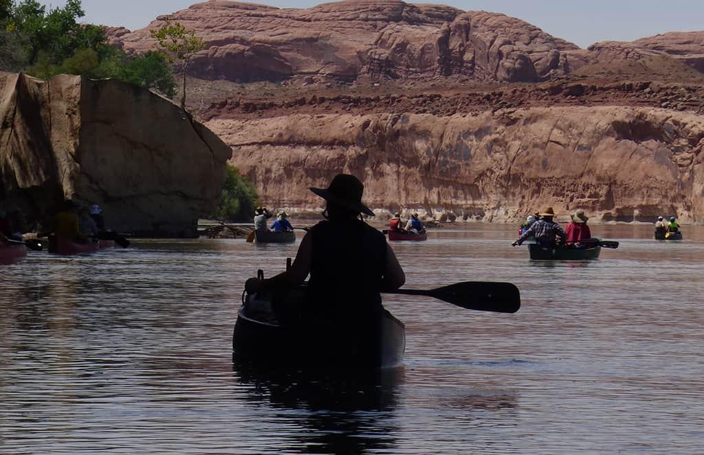 Canoeing-Utah