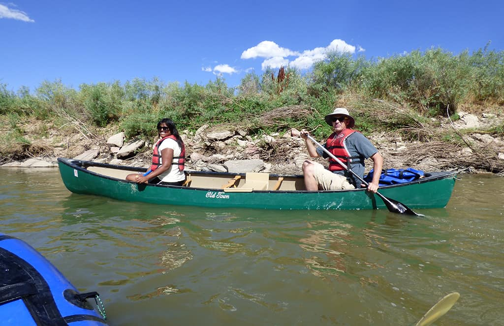 Guided-Canoeing-St-Vrain-River Longmont Boulder