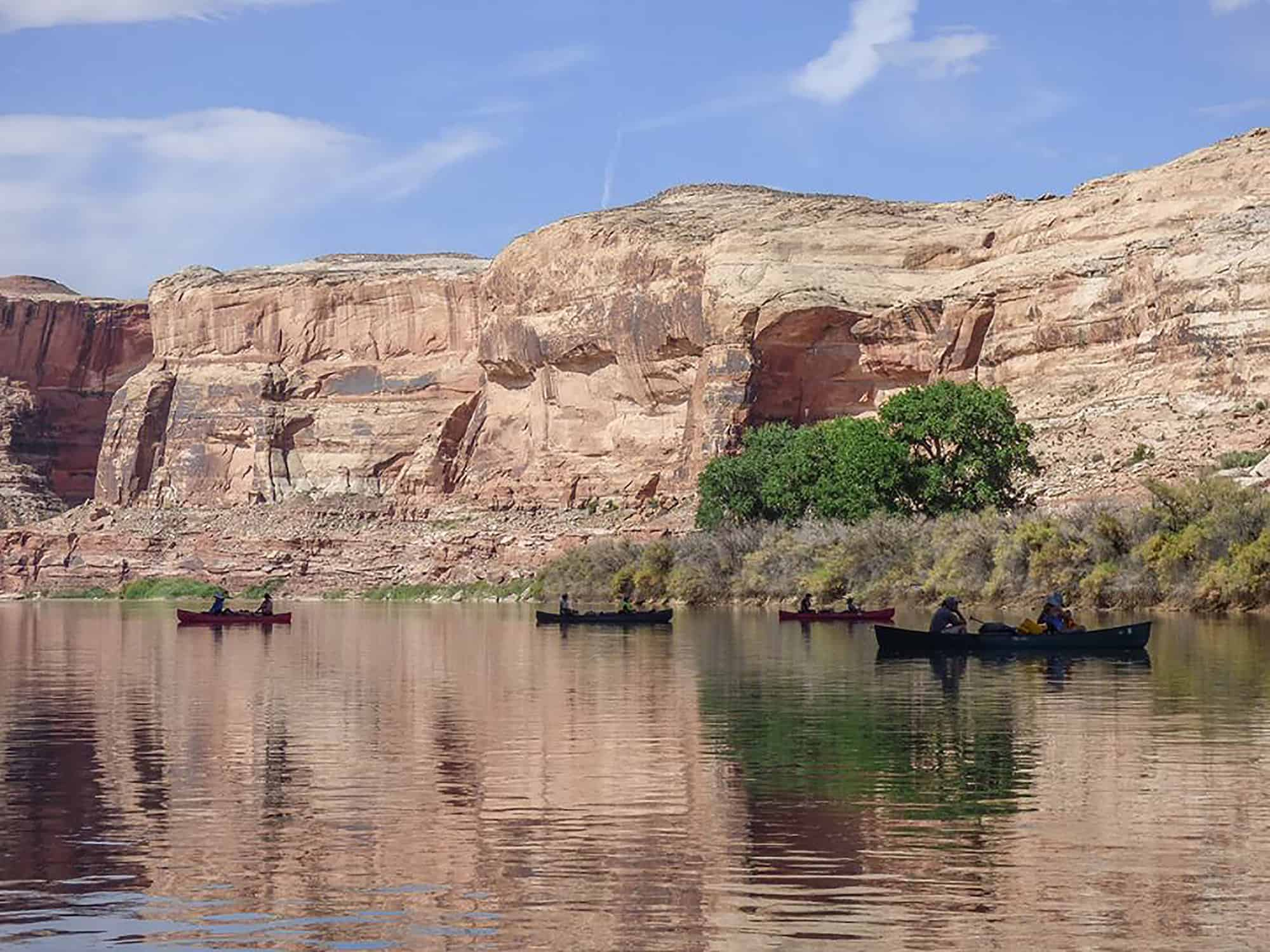 Utah, Green River, Canoe