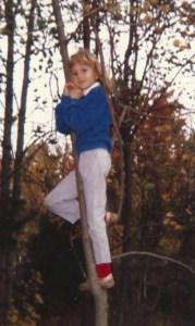 Lauren at age 7